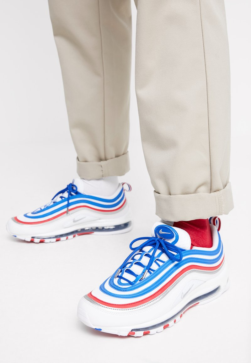 Nike Sportswear - AIR MAX 97 - Trainers - game royal/metallic silver/university red