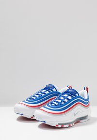 Nike Sportswear - AIR MAX 97 - Sneakers basse - game royal/metallic silver/university red - 3