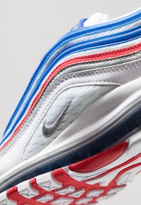 Nike Sportswear - AIR MAX 97 - Sneakers basse - game royal/metallic silver/university red - 9