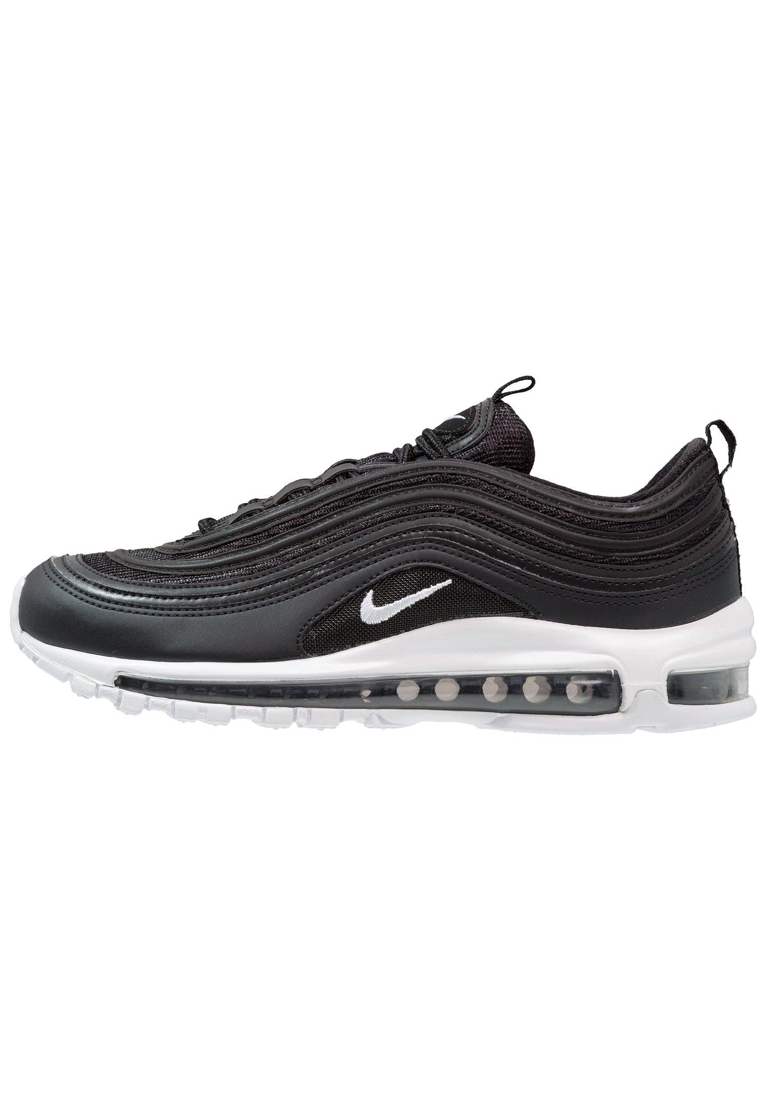 Nike Sportswear AIR MAX 97 - Sneakersy niskie - black/white