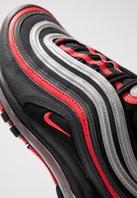 Nike Sportswear - AIR MAX 97 - Sneakersy niskie - black/university red/metallic silver - 5