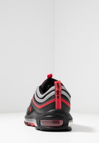 Nike Sportswear - AIR MAX 97 - Sneakersy niskie - black/university red/metallic silver - 3