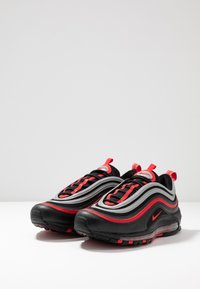 Nike Sportswear - AIR MAX 97 - Sneakersy niskie - black/university red/metallic silver - 2