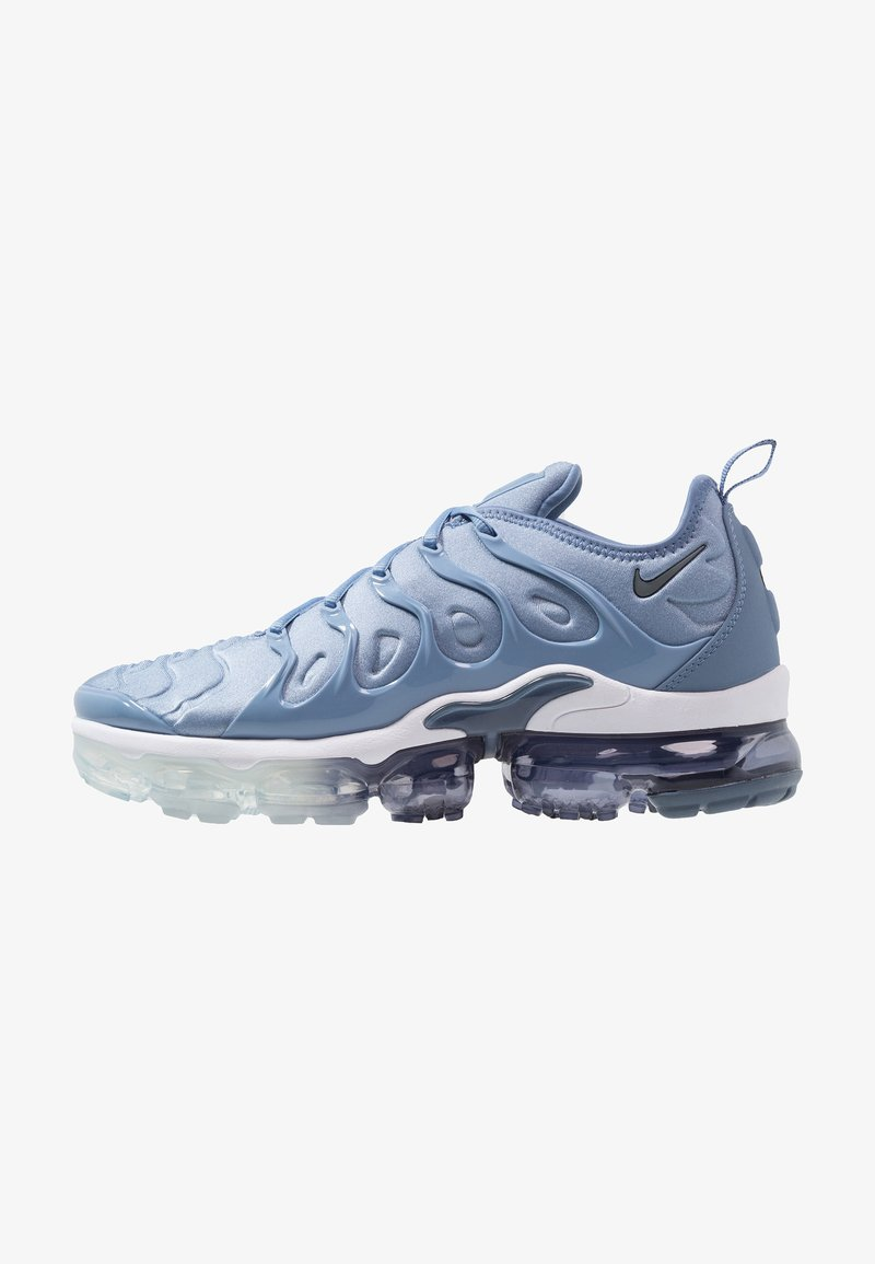 Nike Sportswear - AIR VAPORMAX PLUS - Matalavartiset tennarit - work blue/cool grey/diffused blue/white