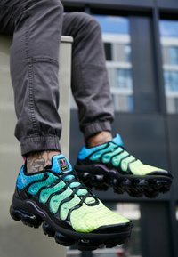 Nike Sportswear - AIR VAPORMAX PLUS - Sneakers basse - aurora green/reflect silver/black/blue hero/china rose/volt