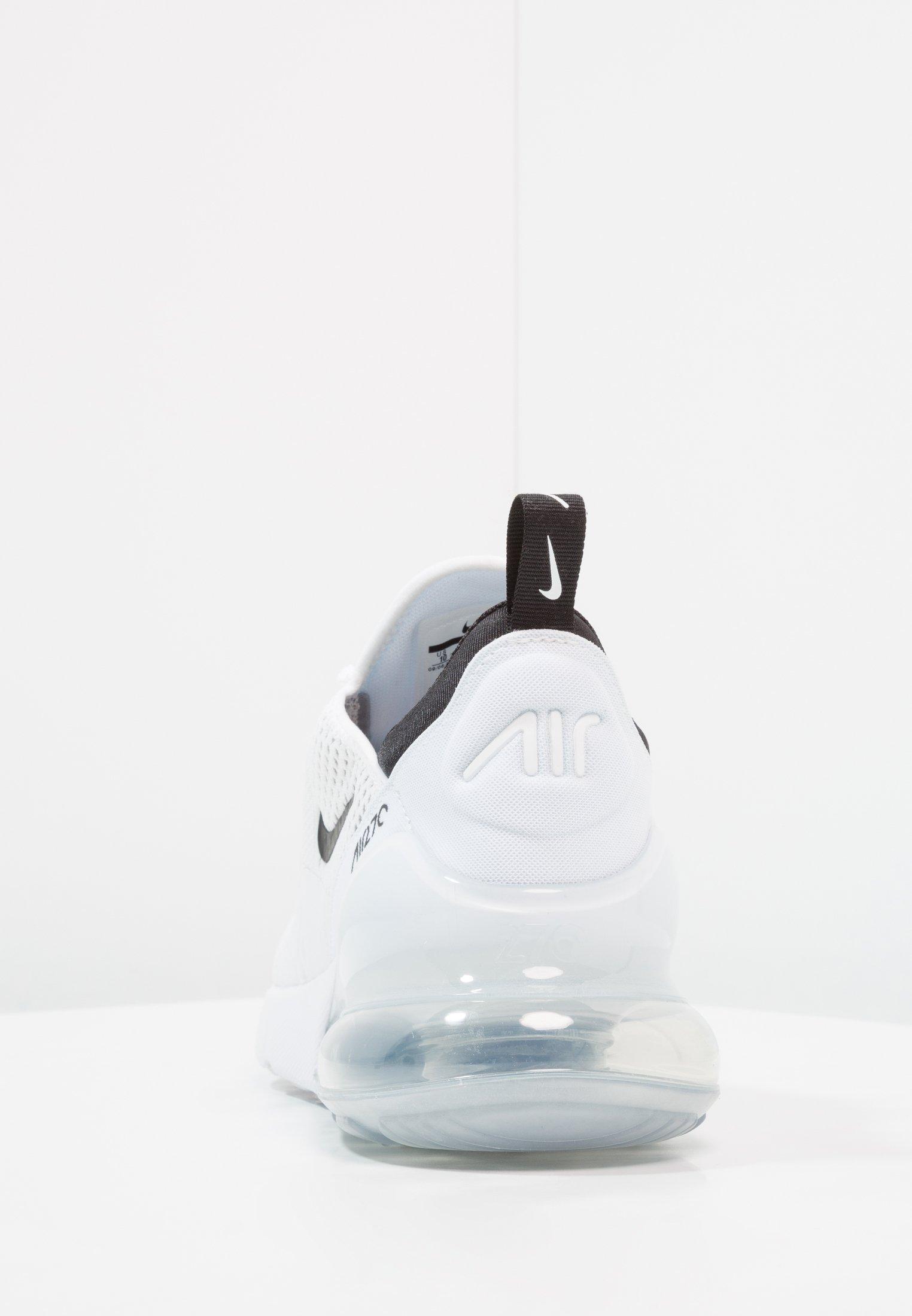 Nike Sportswear AIR MAX 270 - Sneakersy niskie - white/black