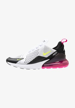 AIR MAX 270 - Sneakers - white/volt/black/laser fuchsia