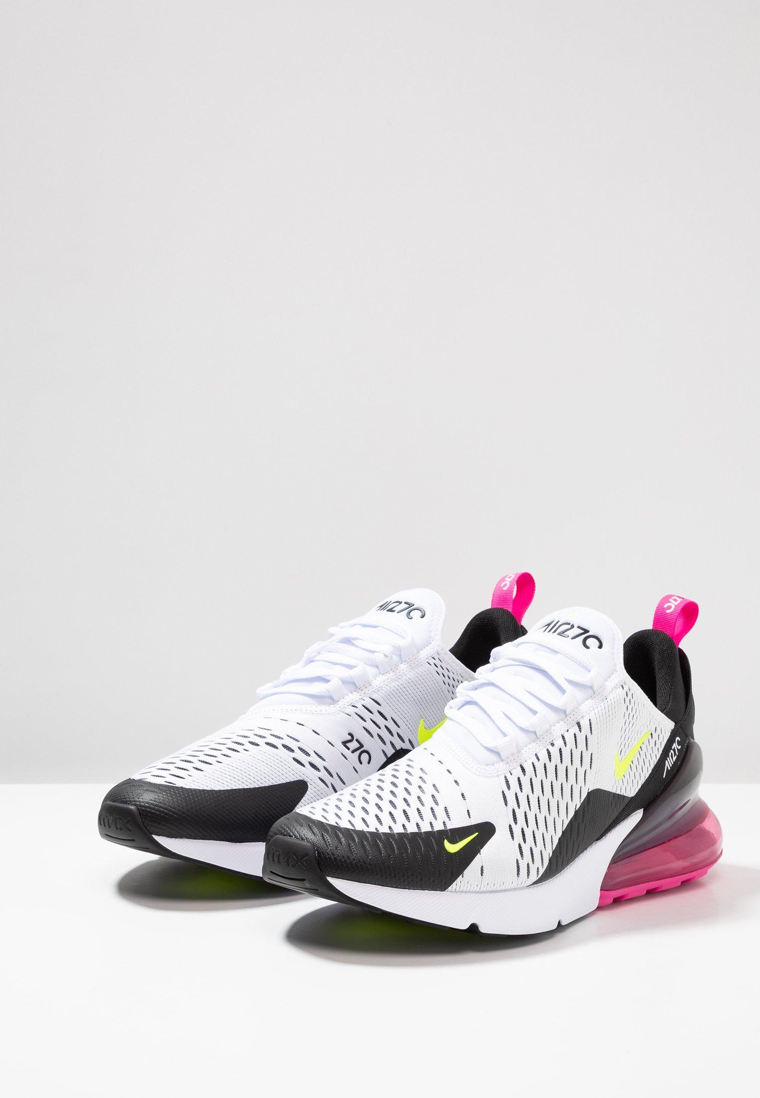 black laser Nike Air Fuchsia Max volt 270Baskets Sportswear White Basses mN8nOv0w