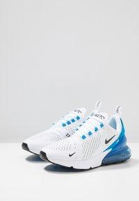 Nike Sportswear - AIR MAX 270 - Sneakers - white/black/photo blue/pure platinum - 2