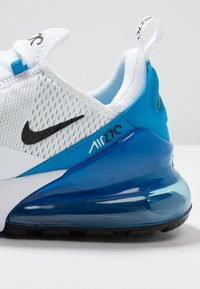 Nike Sportswear - AIR MAX 270 - Sneakers - white/black/photo blue/pure platinum - 5