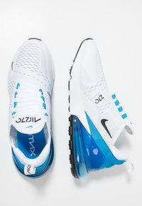 Nike Sportswear - AIR MAX 270 - Sneakers - white/black/photo blue/pure platinum - 1