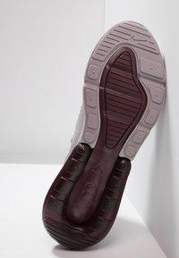 Nike Sportswear - AIR MAX 270 - Trainers - atmosphere grey/light silver/burgundy crush - 4