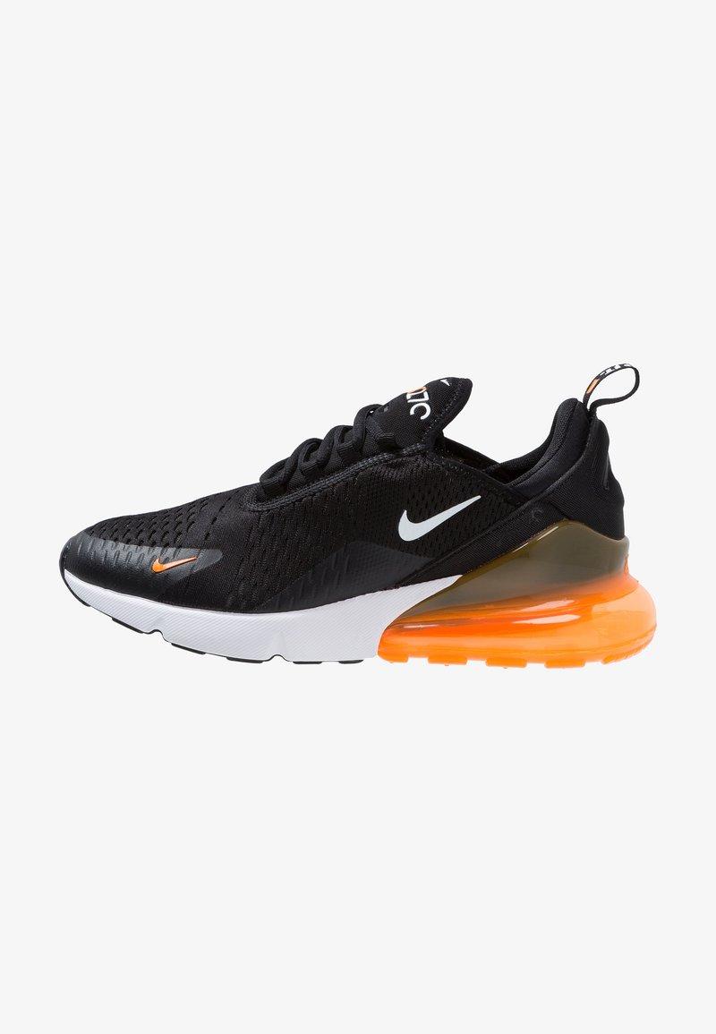 Nike Sportswear - AIR MAX 270 - Trainers - black/white/total orange