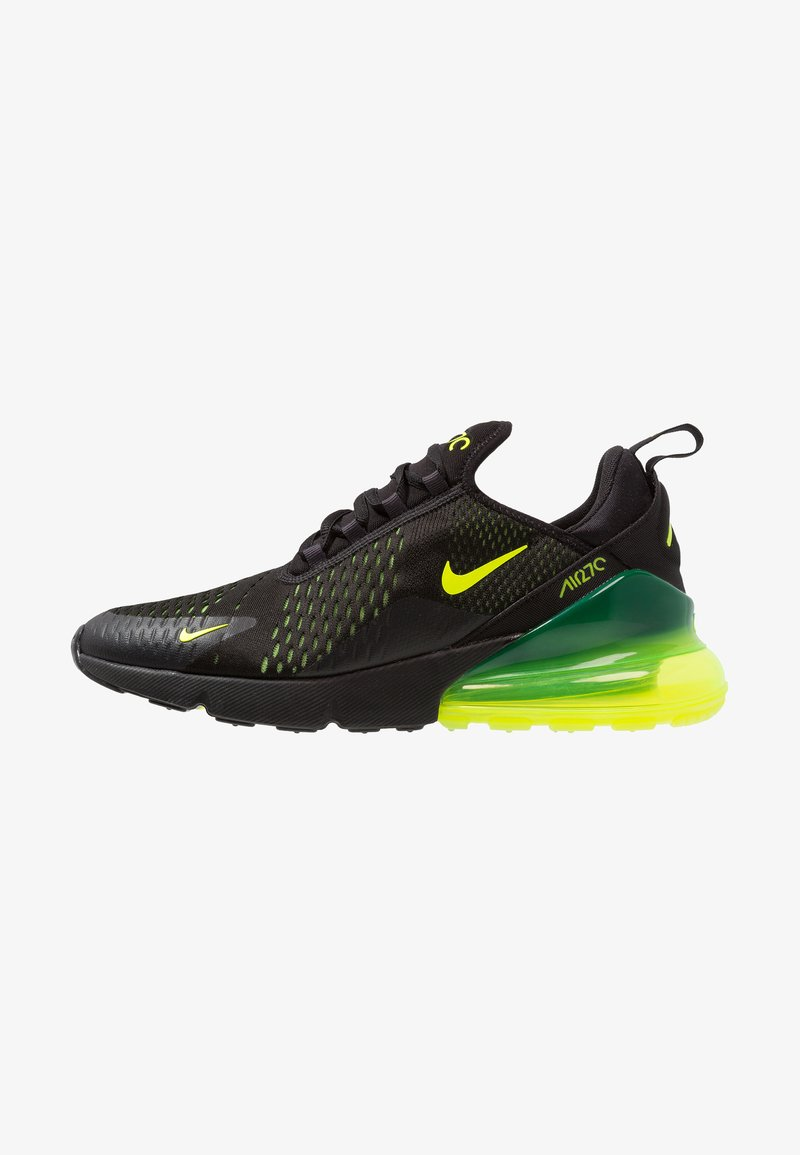 Nike Sportswear - AIR MAX 270 - Matalavartiset tennarit - black/volt/oil grey