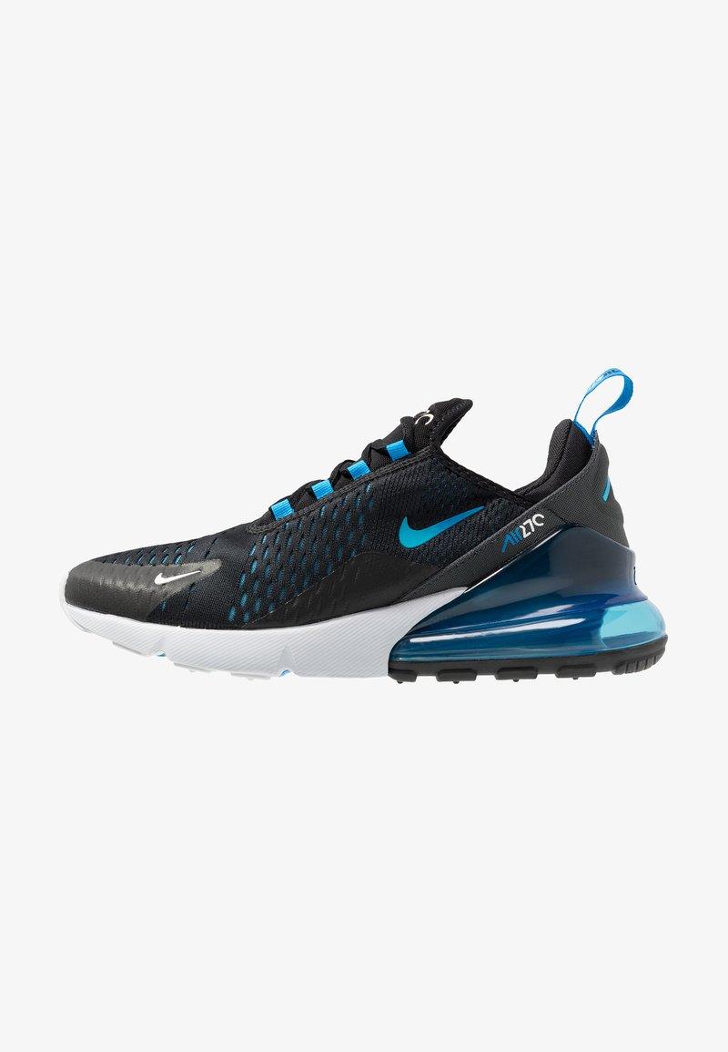 Nike Sportswear - AIR MAX 270 - Sneaker low - black/photo blue/blue fury/pure platinum/anthracite/white