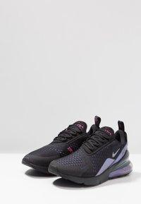 Nike Sportswear - AIR MAX 270 - Sneakers - black/laser fuchsia/regency purple/anthracite - 2