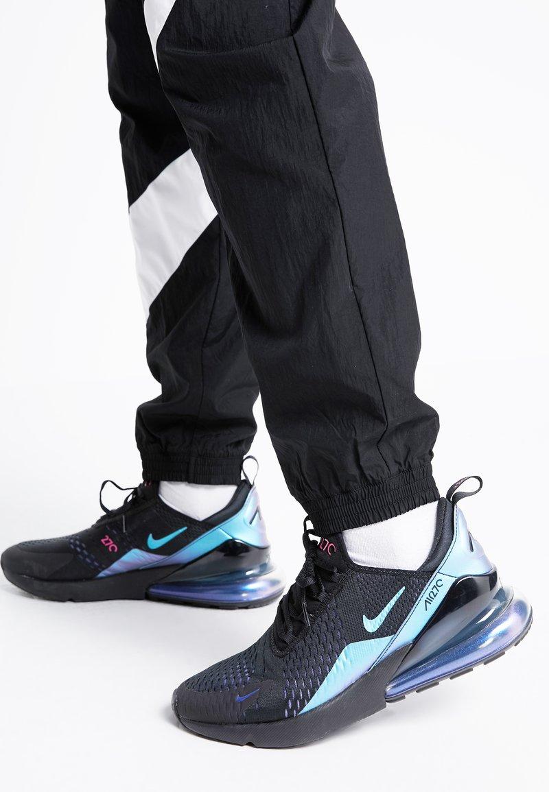 Nike Sportswear - AIR MAX 270 - Trainers - black/laser fuchsia/regency purple/anthracite