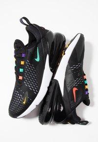 Nike Sportswear - AIR MAX 270 - Sneakers - black/flash crimson/university gold/psychic purple/kinetic green/white - 5