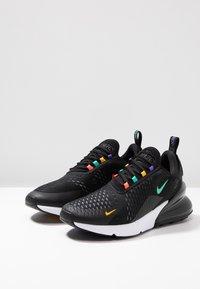 Nike Sportswear - AIR MAX 270 - Sneakers - black/flash crimson/university gold/psychic purple/kinetic green/white - 2