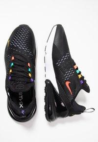 Nike Sportswear - AIR MAX 270 - Sneakers - black/flash crimson/university gold/psychic purple/kinetic green/white - 1