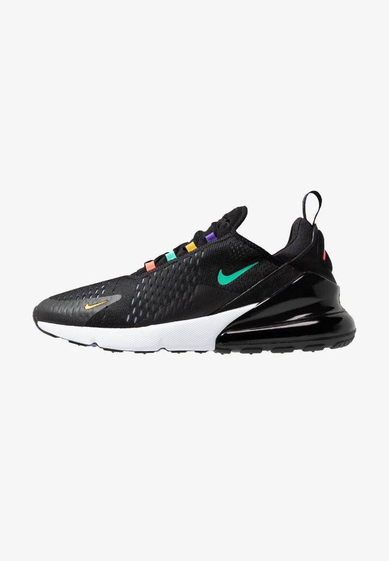 Nike Sportswear - AIR MAX 270 - Sneaker low - black/flash crimson/university gold/psychic purple/kinetic green/white