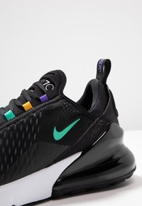 Nike Sportswear - AIR MAX 270 - Sneakers - black/flash crimson/university gold/psychic purple/kinetic green/white - 7