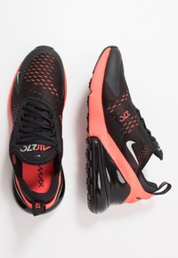 Nike Sportswear - AIR MAX 270 - Sneakers - black/metallic silver/bright crimson - 1