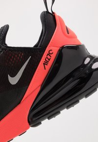 Nike Sportswear - AIR MAX 270 - Sneakers - black/metallic silver/bright crimson - 5