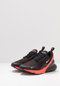 Nike Sportswear - AIR MAX 270 - Sneakers - black/metallic silver/bright crimson - 2