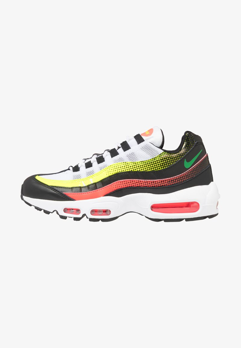 Nike Sportswear - AIR MAX 95 SE - Sneakers basse - black/aloe verde/bright crimson/volt/white