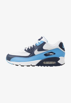 AIR MAX 90 ESSENTIAL - Sneakers laag - white/pure platinum/university blue/midnight navy