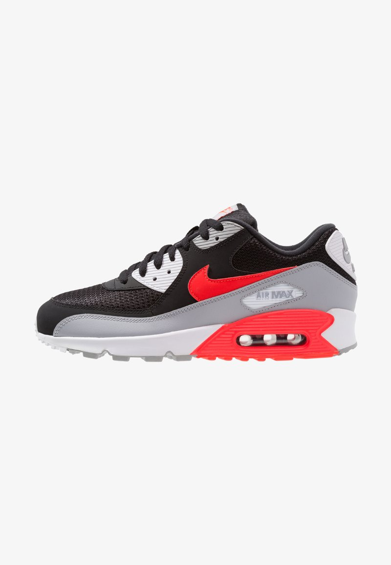 Nike Sportswear - AIR MAX 90 ESSENTIAL - Baskets basses - wolf grey/bright crimson/black/white