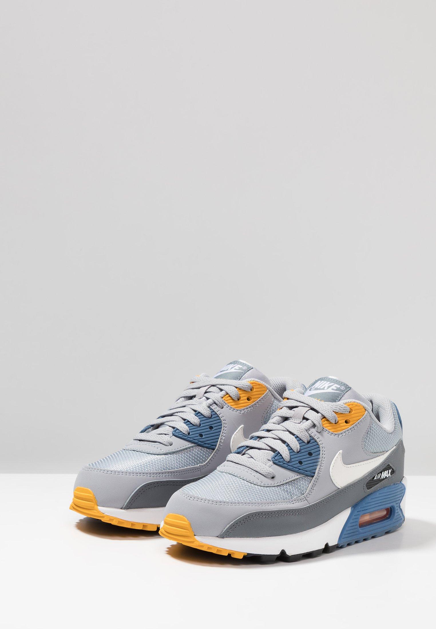 AIR MAX 90 ESSENTIAL Sneakers laag wolf greywhiteindigo stormuniversity goldcool greyanthracite