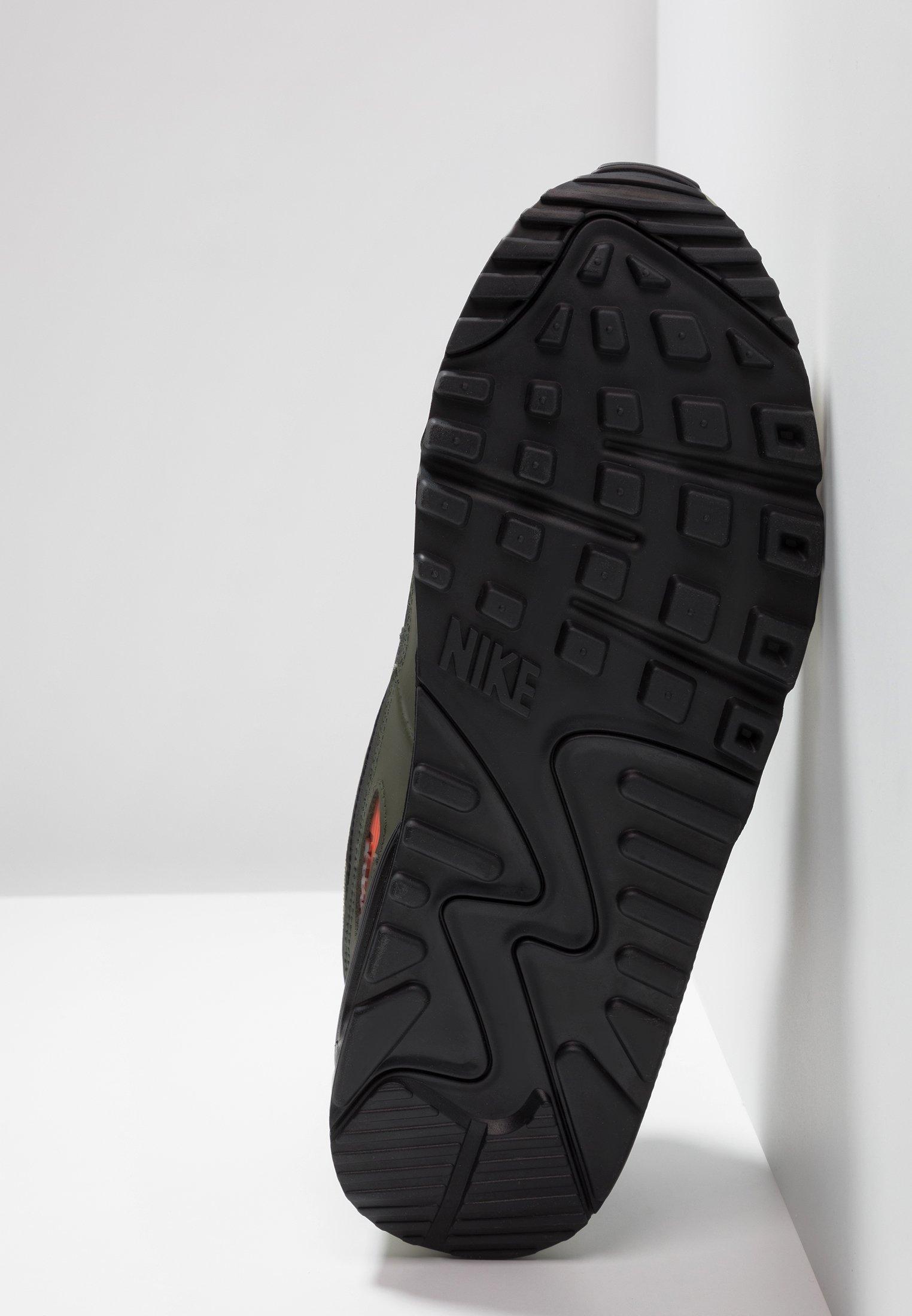 AIR MAX 90 ESSENTIAL Sneakersy niskie medium oliveblackteam orangecargo khakisail