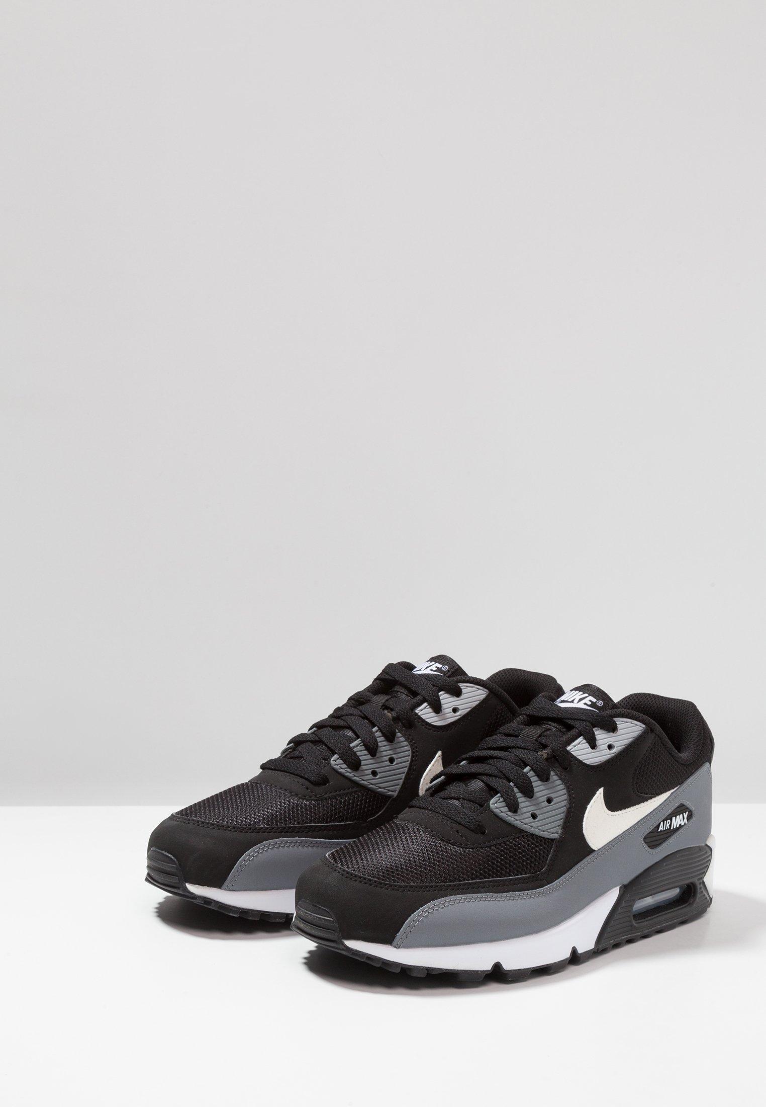 AIR MAX 90 ESSENTIAL Sneakersy niskie blackwhitecool greyanthracitewolf grey