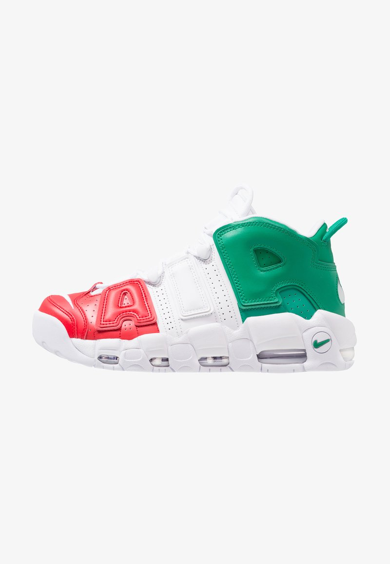 Nike Sportswear - AIR MORE UPTEMPO 96 ITALY - Sneaker high - universal red/white/lucid green