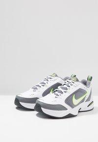 Nike Sportswear - AIR MONARCH IV - Sneakers - white/white /cool grey - 2