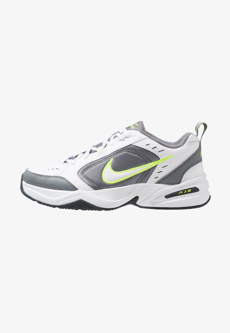 Nike Sportswear - AIR MONARCH IV - Sneakers - white/white /cool grey