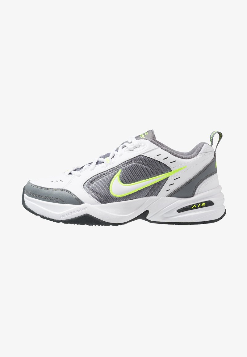 Nike Sportswear - AIR MONARCH IV - Sneakersy niskie - white/white /cool grey