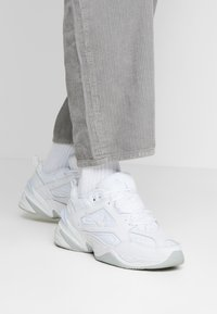 Nike Sportswear - M2K TEKNO - Trainers - white/pure platinum - 0