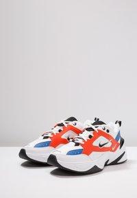 Nike Sportswear - M2K TEKNO - Sneakersy niskie - summit white/black/team orange/mountain blue - 3