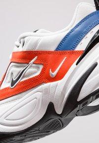 Nike Sportswear - M2K TEKNO - Sneakersy niskie - summit white/black/team orange/mountain blue - 8