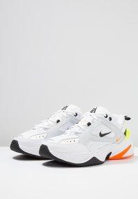 Nike Sportswear - M2K TEKNO - Trainers - pure platinum/black/sail/white/volt/total orange - 2