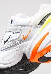 Nike Sportswear - M2K TEKNO - Trainers - pure platinum/black/sail/white/volt/total orange - 6