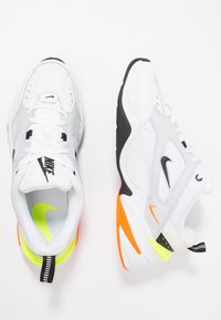 Nike Sportswear - M2K TEKNO - Trainers - pure platinum/black/sail/white/volt/total orange - 1