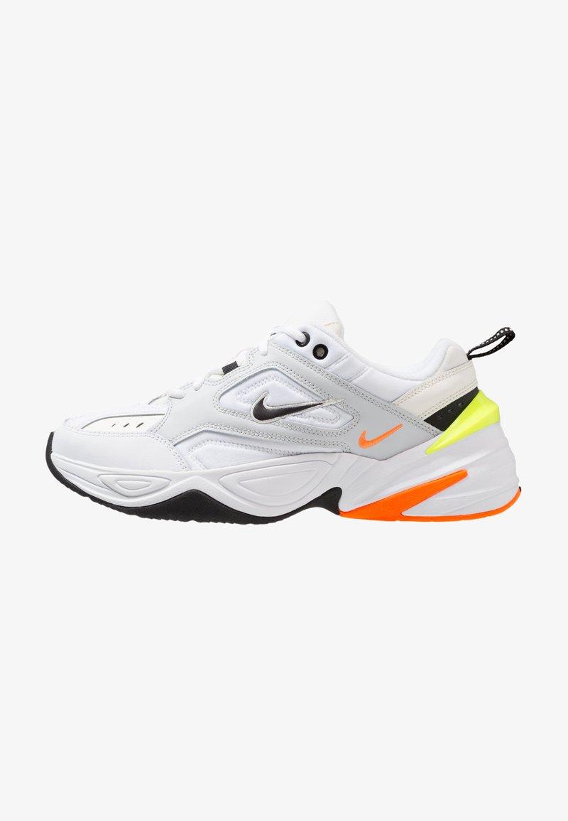 Nike Sportswear - M2K TEKNO - Trainers - pure platinum/black/sail/white/volt/total orange