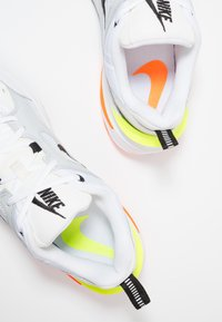 Nike Sportswear - M2K TEKNO - Trainers - pure platinum/black/sail/white/volt/total orange - 5