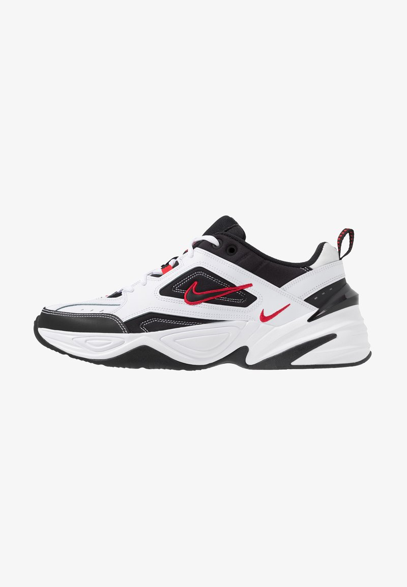 Nike Sportswear - M2K TEKNO - Trainers - white/black/university red