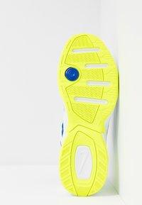 Nike Sportswear - M2K TEKNO - Matalavartiset tennarit - white/black/volt/racer blue - 5