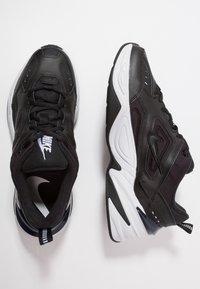 Nike Sportswear - M2K TEKNO - Sneakers - black/offwhite/obsidian - 3